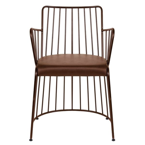 NEO-223-Padded-Wrought-Iron-Chair-1