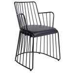 NEO-223-Padded-Wrought-Iron-Chair-2