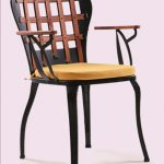 SIZ-KRE-Wooden-Back-Metal-Armchair-1