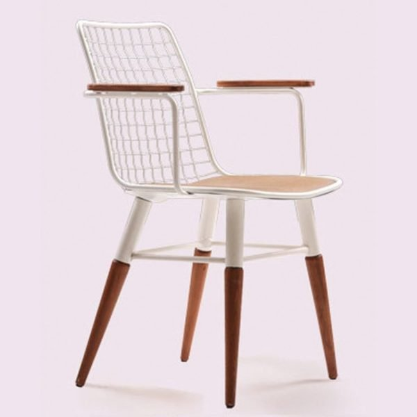 SIZ-STL01-Lattice-Metal-Dining-Armchair-1