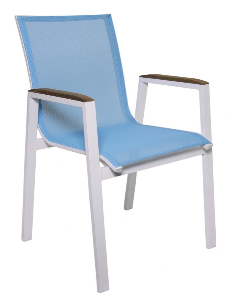 Outdoor Sling Chair For Cafe Restaurant Grd Br