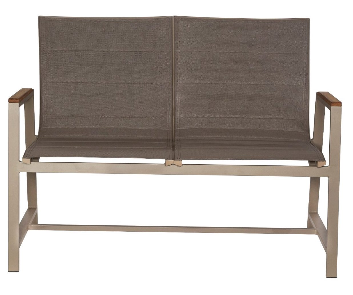 Outdoor Padded Sling Bench Grd Brbp