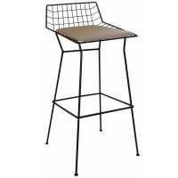 NEO-259-1-Wrought-Iron-Bar-Stool-Bar-Chair-1