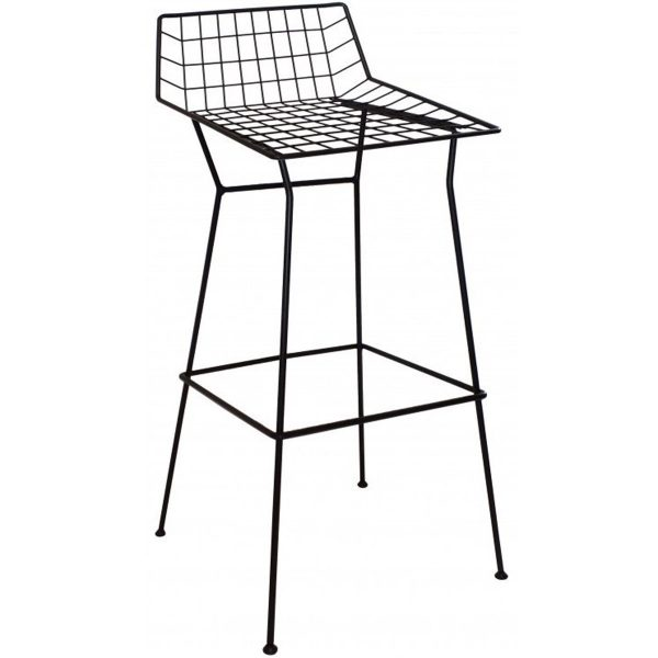 NEO-259-1-Wrought-Iron-Bar-Stool-Bar-Chair-2