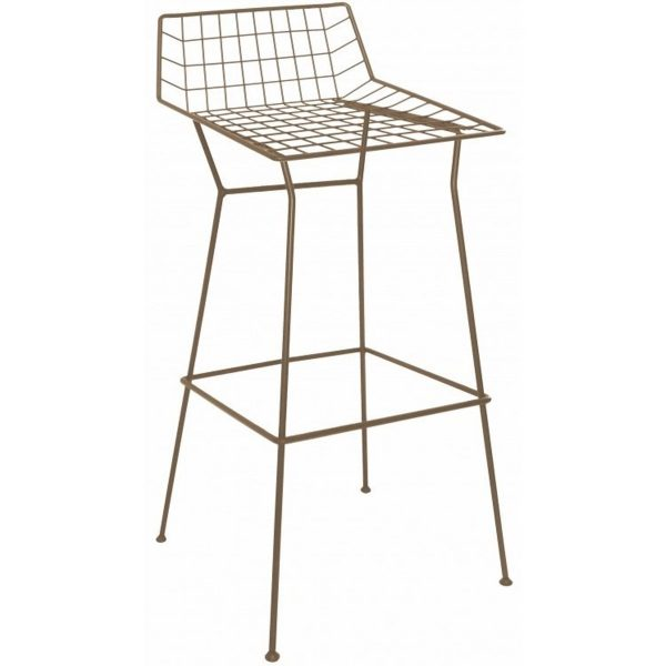 NEO-259-1-Wrought-Iron-Bar-Stool-Bar-Chair-3