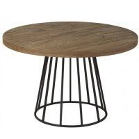 NEO-279-Round-Wood-And-Metal-Dining-Table-1