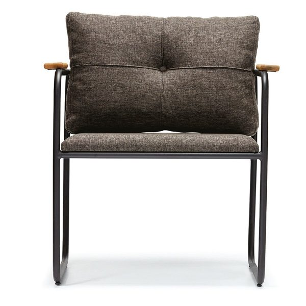 DCS-117 Metal Frame Upholstered Chair-1