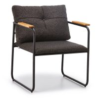 DCS-117 Metal Frame Upholstered Chair