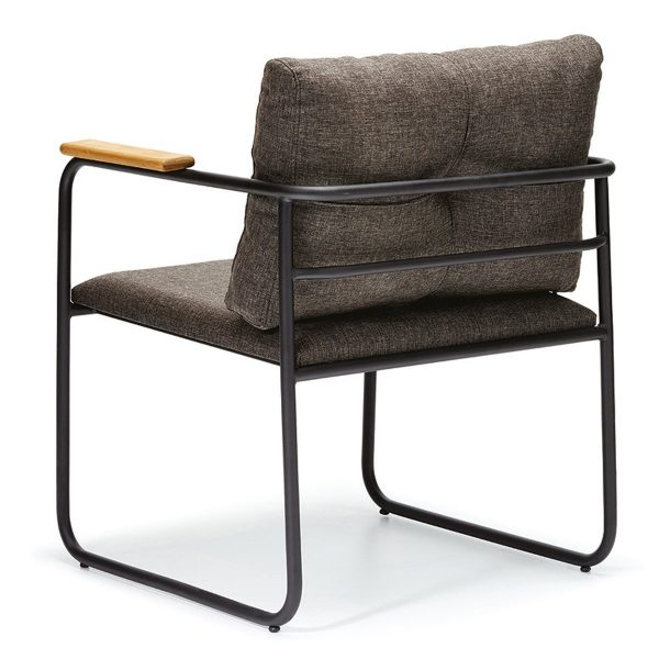DCS-117 Metal Frame Upholstered Chair-3