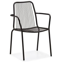 DCS-125K Contract Wire Metal Armchair