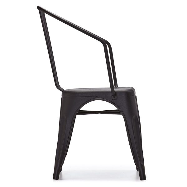 DCS-126K Tolix Metal Armchair For Contract Use-2