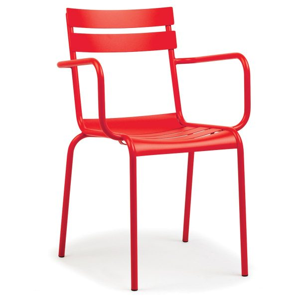 DCS-127K Fast Food Restaurant Metal Chair-4