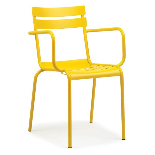 DCS-127K Fast Food Restaurant Metal Chair-5