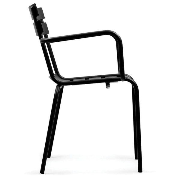 DCS-127K Fast Food Restaurant Metal Chair-9
