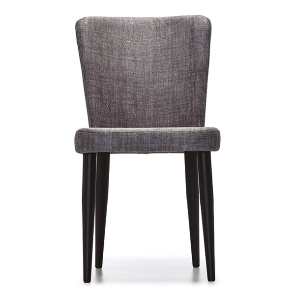 DCS-133 Upholstered Chair With Metal Legs-1