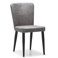 DCS-133 Upholstered Chair With Metal Legs