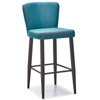 DCS-133B Upholstered Counter Height Bar Stool