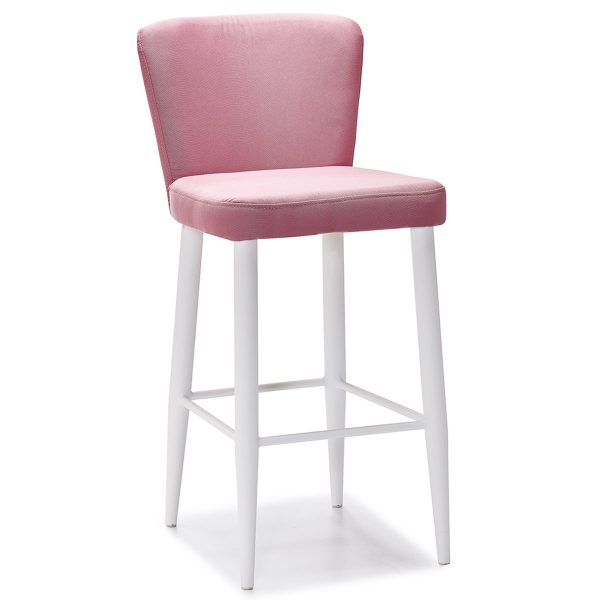 DCS-133B Upholstered Counter Height Bar Stool-2