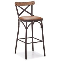 DCS-137B Thonet Metal Pub Chair