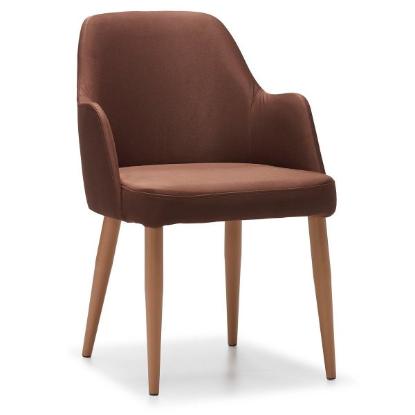 DCS-143 Upholstered Restaurant Chair With Arm